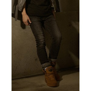 【SALE/50%OFF】SWAGGER NEEDLE PUNCH DAMAGE SKINNY DENIM PANTS スワッガー パンツ/ジーンズ【RBA_S】【RBA_E】【送料無料】