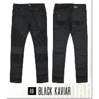 BLACK KAVIAR MAETAN (LS:PANTS)(COLOR:BL)