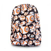 Loungefly x Star Wars: The Force Awakens BB-8 Black Backpack