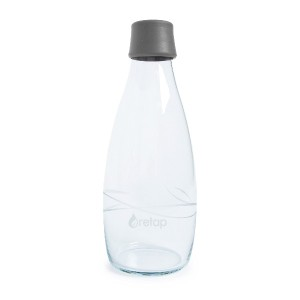 Retap Borosilicate Glass Water Bottle, 27-Ounce 水筒 750ml グレー