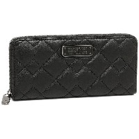 マークバイマークジェイコブス 財布 MARC BY MARC JACOBS M0007522 001 CROSBY QUILT LEATHER SLIM ZIP AROUND 長財布 BLACK...