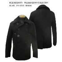 BUZZ RICKSON'S バズリクソンズ BLACK PEA COAT WILLIAM GIBSON COLLECTIONBR12394