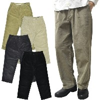 【2 COLOR】RICCARDO METHA(リカルド メサ)【MADE IN ITALY】 CORDUROY 1TUCK WIDE TROUSER(イタリア製 太畝 コーデュロイ ワンタック...
