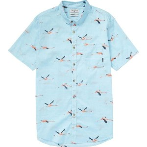 (取寄)ビラボン メンズ Vacay シャツ Billabong Men's Vacay Short-Sleeve Shirt Coastal