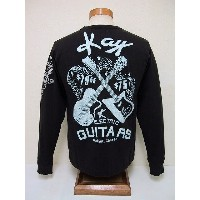 Groovers[グルーヴァーズ] ロンT KAY ELECTRIC GUITARS (BLACK)