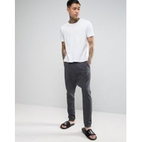 ASOS エイソス Drop Crotched Brushed Back Jogger