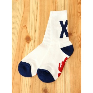 【SALE/10%OFF】X-girl X-girl × GIRL SKATEBOARDS SOCKS エックスガール ファッショングッズ【RBA_S】【RBA_E】