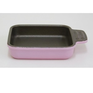 UMIC assiette(アシット) toaster & oven cookware スクエアS ローズピンク