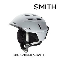 2017 SMITH スミス ヘルメット HELMET CAMBER MATTE WHITE ASIAN FIT