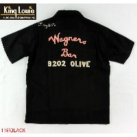 "No.KL36639 KING LOUIE キングルイBOWLING SHIRTS""Wagners Bar"""