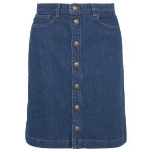 アーペーセー A.P.C. Atelier de Production et de Creation レディース スカート ミニスカート【Therese denim skirt】