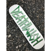 【DEATHWISH】 DEATHSPRAY PUNCH OUT WHITE  Deck 8.25×32  Skateboard Deck デスウィッシュ スケートボード