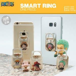 【送料無料?安心国内発送】★One Piece Smart Ring ★ Smart Phone Finger Ring holder Stand Convenient Safe