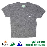 TURTOISE タータス キッズ 半袖 Tシャツ/ CIRCLE DK - HEATHER CHARCOAL / 17SS【s9】