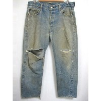 1979's Levi's/リーバイス 501 66後期 デニム パンツ 色落ち Made in U.S.A 【W36 L28】【ジーンズ】【ヴィンテージ/vintage】【US古着】【中古】...