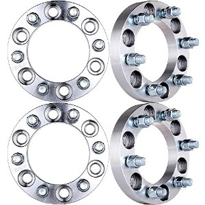 "ECCPP Wheel Spacers 4PCS 1"" 6x5.5 (6x139.7) 14x1.5 スタッド for 1999-2012 Cadillac エスカレード Chevrolet..."