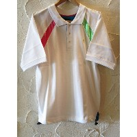 GROOVER GRAND/NEON S/S POLO WHITE