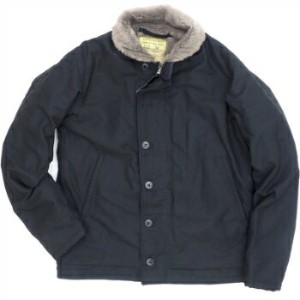WILLIAM GIBSON by BUZZ RICKSON'S(ウイリアムギブソン バズリクソン)USN Type N-1 Deck Jacket BLACK [BR13657]【送料無料】