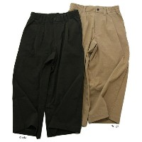 Jackman(ジャックマン)JM4705 Stretch Wide Trousers 2color ストレッチワイドトラウザーズ