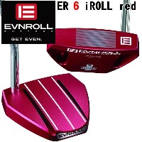 イーブンロールパター ER 6 iROLL Red EVNROLL PUTTER