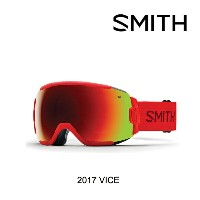 2017 SMITH スミス ゴーグル GOGGLE VICE FIRE/RED SOL-X MIRROR ASIAN FIT