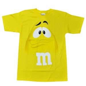 m&m's ADULT TEE(YELLOW)アダルト Tシャツ(イエロー)【2】