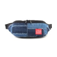 Patchwork Denim Brooklyn Bridge Waist Bag【マンハッタンポーテージ/Manhattan Portage その他(バッグ)】