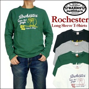 【20%OFFセール】 BARNS (バーンズ) -ヘビーウェイト長袖Tシャツ/ROCHESTER- BR-6410 プレゼント ギフト 【送料無料】