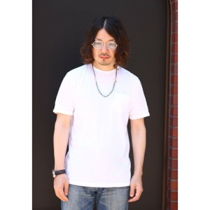 【全品送料無料!】CROSSLEY [クロスリー] / BUKER-SS COTTON CREW NECK DIST. RIB COLLAR W/ BAND CUFF POCKET TEE /...
