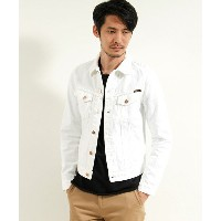 【Nudie Jeans(ヌーディージーンズ)】BILLY PITCH WHITE WORN ジャケット