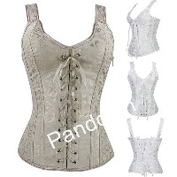 2014 New Arrival Overbust Sexy Corset Fashion Comfortable Steel Boned Bustier Perfect Body Shaper 2...