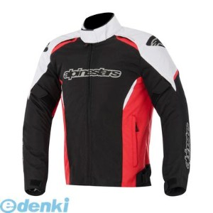 アルパインスターズ(alpinestars) [8051194663580] GUNNER WATERPROOF JACKET 6815 123 BLACK WHITE RED XL【送料無料】