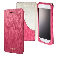 "GRAMAS FEMME ""Colo"" Flap Leather Case for iPhone 6s / iPhone 6 グラマスファム 手帳型レザーケース ストラップ付き GRAMAS..."