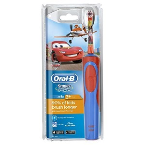 Oral-B Stages Power Kids Electric Toothbrush Featuring Disney Cars and Planes by Oral-B [並行輸入品]