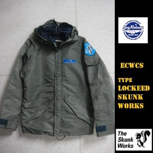 Buzz Rickson's★スカンクワークスECWCS TYPE LOCKEED SKUNK WORKS BR13622 (バズリクソンズ)BuzzRickson's