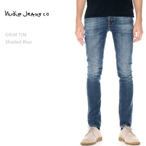≪New≫NUDIE JEANS(ヌーディー ジーンズ)GRIM TIM Shaded Blue