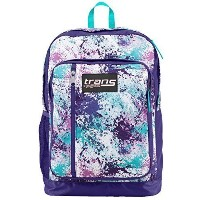 [アメリカ直送] Trans Jansport Megahertz Laptop Backpack Purple Turquoise Blue White Pink Spl...