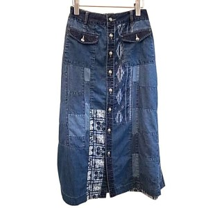 Jean Nassaus ジーンナッソーズ デニムMIXスカート Color:092 size:3 made in JAPAN
