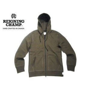 【期間限定30%OFF!】REIGNING CHAMP(レイニングチャンプ)/HEAVYWEIGHT TERRY FULL ZIP HOODIE/olive