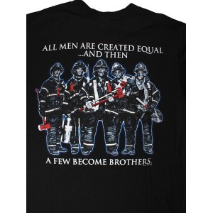 All Men Are Created Equal 消防Tシャツ SH
