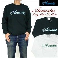 【20%OFFセール】 ACOUSTIC (アコースティック) 長袖Tシャツ/ACOUSTIC AC5313 プレゼント ギフト