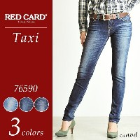 "RED CARD レッドカード""Taxi""スキニーデニムパンツ RED CARD 76590【コンビニ受取対応商品】"