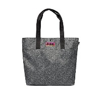 Victoria's Secret ヴィクトリアシークレット PINK tote bag ビッグ トート バッグ ジム バッグ ママトート ( グレー )