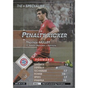 WCCF 15-16 THE SPECIALIST PENALTY KICKER トーマス・ミュラー (バイエルン) SPE 4