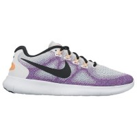 (取寄)ナイキ レディース フリー RN 2017 Nike Women's Free RN 2017 Off White Black Hot Punch Chlorine Blue