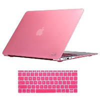 (Noot) Macbook Air 13 inch Case Soft Finish Protective Hard Slim Case with Keyboard Cover for 13-...