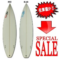 "Power Point パワーポイント サーフボードショートボード 6'5"" フィン付 Shortboard RED(A80048)Surfboard 未使用アウトレット特価【代引不可】サーフィン..."