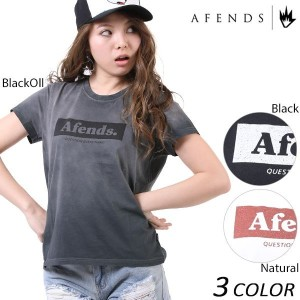 SALE セール 20%OFF レディース 半袖 Tシャツ AFENDS アフェンズ Sunny Future-Standard Fit Tee 50-05-020 EE1 C16