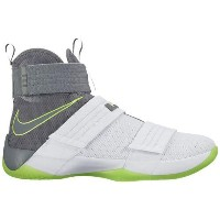 (取寄)ナイキ メンズ レブロン ソルジャー 10 Nike Men's LeBron Soldier 10 White Cool Grey Electric Green