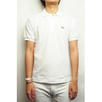 LACOSTE (ラコステ) L1212 POLO SHIRTS (WHITE) 2 (S) size